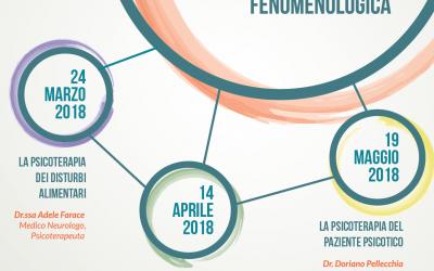 Ciclo di 3 seminari sulla psicologia fenomenologica